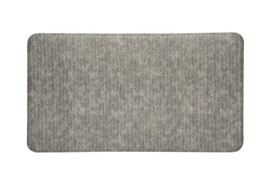 Imprint Gray Kitchen Mat
