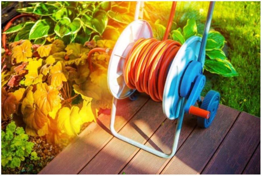 Multicolor Hose Reel